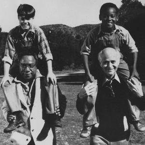 Norman Lear and Alex Haley